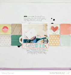 Hello Gorgeous | Studio Calico Blue Note by Marcy Penner @2peasinabucket