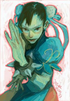 Street Fighter - Chun-Li by Joysuke