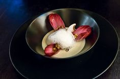 Mon entrée proposée au restaurant Les Fous de l'Île le 13 novembre | Sugar'n'Sale, un blog de recettes de cuisine et de pâtisserie http://www.sugarnsale.com/2015/11/mon-entree-proposee-au-restaurant-les.html #recipe #recette #champignon #winter #automn #canard #paris
