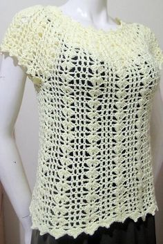 Eunice Summer Top By Girlie D. de los Reyes - Free Crochet Pattern - (ravelry)