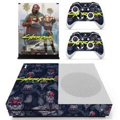Cyberpunk Xbox one S Skin | Xbox one S skin – Console skins world Console Styling, Xbox One S, Cyberpunk, Personal Style, Console Table Styling