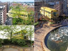 City Museum: a former factory shoe turns into a theme park