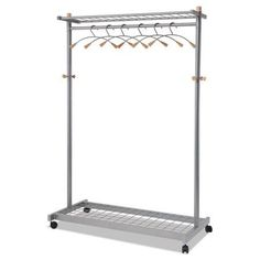 Portable And Expandable Garment Rack In Black Chrome 18 Months Prepossessing Ikea Portis Garment Rack I Need To Makeshift Clothes Storage In New