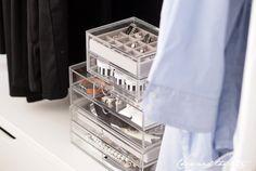 Muji acrylic storage