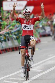 Vuelta a España 2014 - Stage 19: Salvaterra de Miño - Cangas de Morrazo 180.5km photos - Adam Hansen (Lotto Belisol) wins stage 19 of the Vuelta a España
