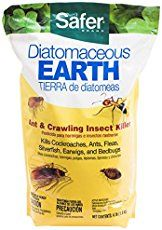 Kills a variety of crawling insects including bed bugs, fleas, roaches, ants, and earwigs. Contains 4 pounds of Diatomaceous Earth per bag. Kills insects within 48 hours of DE ingestion. Works effectively indoors and outdoors. Buy this item in Canada Best Pest Control, Bug Control, Earwigs, Silverfish, Roaches, Insecticide, Bed Bugs, Fleas, Beetles