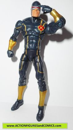 hasbro toys action figures for sale to buy MARVEL UNIVERSE / Legends 4 inch infinite series 2014 X-men's CYCLOPS 100% COMPLETE Condition: Excellent. Nice paint, nice joints. nothing broken, damaged, o