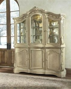 Ortanique Dining Room Buffet W China Table Sets Bedroom Furniture Curio Cabinets And Solid Wood Model Home Gallery S
