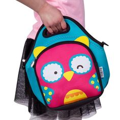 ITZI BITZI Kids Owl Lunch Bag US$14.99 Worldwide Shipping ---> www.amzn.to/2mdSy8P