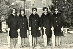 Probates of Zeta Phi Beta @ Winston Salem State University 1968 (c/o Victor Cox)