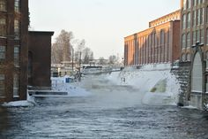 Tammerkoski, by Tuukka Välimäki/Aamulehti Cities In Finland, Big Town, Pilgrim, Niagara Falls, Around The Worlds, Photo And Video, City, Nature, Travel
