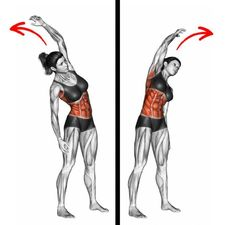 10 simple movements to refine your size and have a sale .- 10 mouvements simples pour affiner sa taille et avoir un ventre plat 10 simple movements to slim down and have a flat stomach - Arm Stretches, Abdominal Muscles, Tiny Waist, Small Waist, Rectus Abdominis Muscle, Reverse Crunches, Fitness Workout For Women, Workout Session, Workout Routines