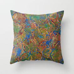 Around And Around Throw Pillow by WinchesterWendy - $20.00