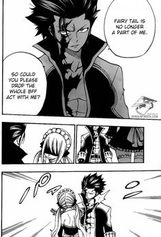 Lucy hits Gray -fairy tail (if Gray is evil then why did he let Lucy hit him I mean if he is truly evil he would of did something to hurt her right I hope no I know his good)