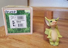 """""""Really I've Grown"""". Dragon is in excellent condition with base label and original box (Box is worn). Dragon has only been displayed in an enclosed glass cabinet in a smoke-free home. 