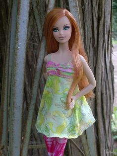 OOAK by Brian Rush. Fashion from a LIV doll.