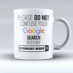 "Limited Edition - ""My Psychology Degree"" 11oz Mug"