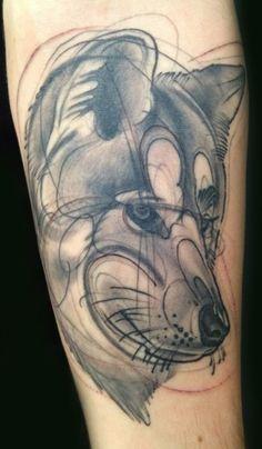hannah wolf tattoo | Tattoo Artwork Bio Contact Shop