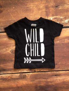 Wild Child Toddler Tshirt