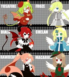 The Grey Garden characters
