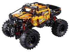 4X4 X-treme Off-Roader 42099 | Technic™ | Buy online at the Official LEGO® Shop CA Monster Trucks, Toy Trucks, Lego Technic, Lego Creator, Star Wars Saga, Technique Lego, Bugatti, Digital Play, Diy Home