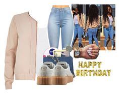 """""""Happy Birthday CHY bae """" by kiatheplugg ❤ liked on Polyvore featuring Eres, River Island, Nivea, Ray-Ban, Chanel and Puma"""