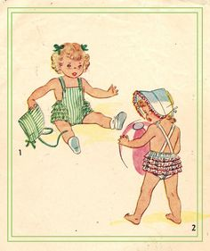 Simplicity 1944 Vintage 40s Super Adorable by PatternPlaying