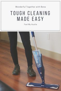 Bona mops and cleaning solutions are a practical addition to any home.