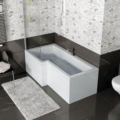 Shower Baths, L Shaped Baths and P Shaped Baths at Bathroom City