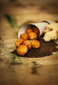 Receta 208: Bolas de puré de patatas » 1080 Fotos de cocina