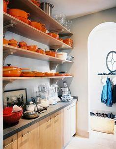 Optimal kitchen storage with open shelving | Eddie Lee Inc