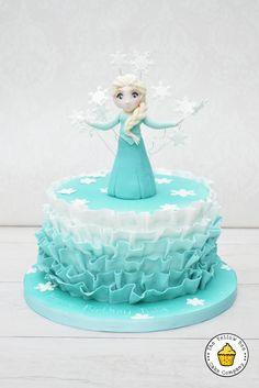 Frozen Birthday Cake - Cake by Yellow Bee Cake Company