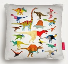 A collection of Dinosaurs, long dead, forever remembered. With colours inspired by reptiles living today. Great for Children's rooms. Signed Giclée Print of original artwork by James Barker. Printed on high quality . Dinosaur Bedroom, Ohh Deer, Soft Furnishings, Original Artwork, Pillows, Pin Cushions, Art Prints, Wall Art, Dandy