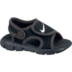 2bdb179e2fce8 Boys Nike Sunray Adjust 4 TD Toddler Sandal BlackAnthraciteWhite Size 10  Kids US Sandales Bébé Fille