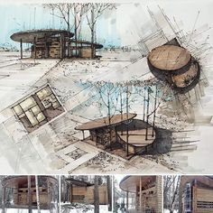 Architecture Design Concept, Architecture Presentation Board, Architecture Sketchbook, Pavilion Architecture, Landscape Architecture, Architecture Diagrams, Presentation Boards, Architectural Presentation, Pavilion Design