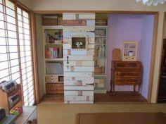 思い切って押入れを大改造して、小さな書斎スペースをつくってみるのもいいですね。