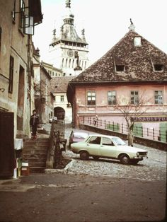 """Romania as captured through the lens of an U. """"Hometown of Vlad Țepeş (aka """"Vlad the Impaler"""" or Dracula. Vlad The Impaler, Bucharest, Socialism, Russia, Classic Cars, Dracula, Country, Places, Travel"""