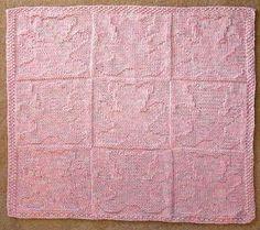 Teddy Bear Baby Blanket Knitting Pattern free knit and purl patterns Easy Knit Baby Blanket, Free Baby Blanket Patterns, Baby Blanket Size, Bear Blanket, Knitted Baby Blankets, Baby Patterns, Teddy Bear Knitting Pattern, Knitted Teddy Bear, Dishcloth Knitting Patterns