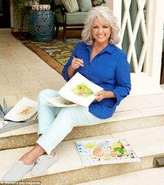 Home maker: Paula Deen opened up her Savannah home for Woman's Day's latest issue