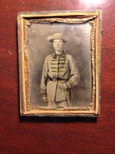 Armed unknown Confederate soldier