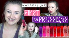 Maybelline Vivid Matte Liquid Lipsticks | Drugstore First Impressions Review from missglambam.com  #youtuber #beautyvlogger #beautyblogger #vlogger #maybelline #Drugstore #Drugstoremakeup #dupe #liquidlipstick #lipstick #mattelips #mattelipstick #matteliquidlipstick #vividmatteliquid #firstimpressions #tryon #weartest #transferproof #review #Swatches #tryonswatch #berryboost #affordablemakeup #brightlips #brightlipstick #maybellinelipstick #matteliquid #vividmatte #awkwardfirstimpressions