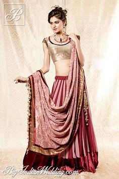 Shyamal & Bhumika designer lehenga