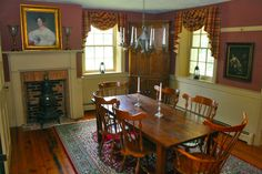 Historic Christian Royer House c.1827 - Dining Room