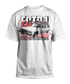 'Ecto-1 Ghostbusters' Cadillac Ectomobile Tee - Men's Regular