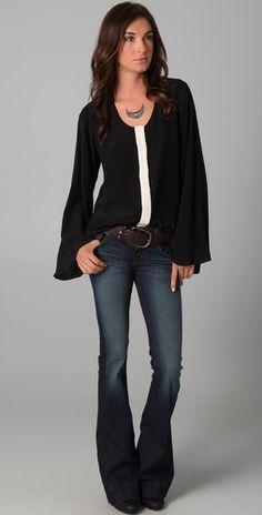 Winter Kate  Black Magic Shirt