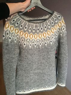 Telja pattern by Jennifer Steingass- Telja pattern by Jennifer Steingass - Knitting Terms, Fair Isle Knitting Patterns, Knitting Charts, Sweater Knitting Patterns, Knitting Designs, Knit Patterns, Free Knitting, Knitting Projects, Norwegian Knitting