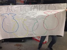 FFA Olympics/Ag Olympics poster! Emblem as the rings!