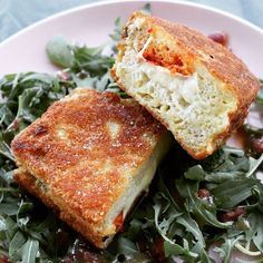 Spinat-Topfen Nockerl mit Parmesan - Wagners Kulinarium Parmesan, Sandwiches, Recipes, Food, Kochen, Quick Recipes, Spinach, Food And Drinks, Food Food