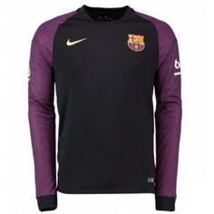 Barcelona 16-17 Målmand Hjemmebanetrøje Langærmet.  http://www.fodboldsports.com/barcelona-16-17-malmand-hjemmebanetroje-langermet.  #fodboldtrøjer