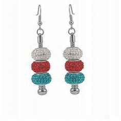 #crystal earring #earring #brooch #diamon necklace #fashion #beautiful #necklace #noble #crystal #red necklace #jewelry http://lvlv.com